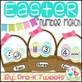 Easter Egg Number Match