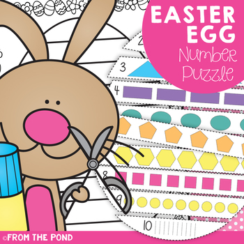 Easter Egg Number Puzzle