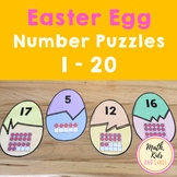 Easter Egg Number Puzzles 1-20