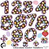 Easter Egg Numbers and Math Operators Clipart, {Best Teacher Tools} AMB-1867