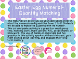 Easter Egg Numeral-Quantity Matching