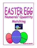 Easter Egg Numeral and Quantity Matching