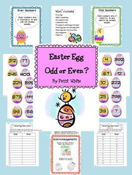 Easter Egg Odd or Even?