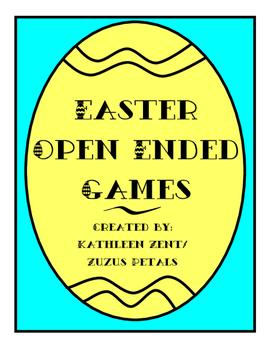 Easter Egg Open Ended Games