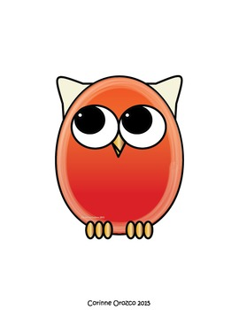 Easter Owls Clip Art