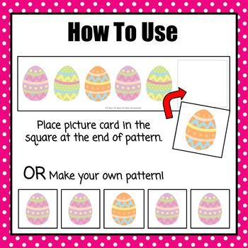 Patterns: Easter Egg Pattern Cards