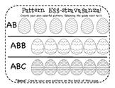 Easter Egg Pattern Freebie!