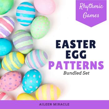Easter Egg Patterns {Bundled Set}