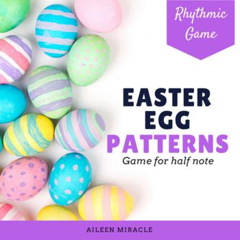 Easter Egg Patterns {Half Note}