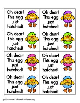 Easter Egg Phonics: Ending Digraphs Pack