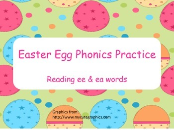 Easter Egg Phonics Practice