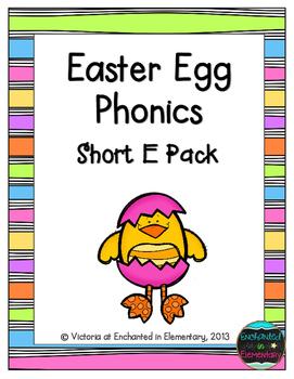 Easter Egg Phonics: Short E Pack