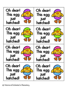 Easter Egg Phonics: Short U Pack