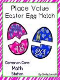 Easter Egg Place Value Match