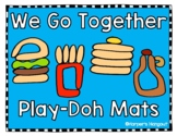 We Go Together Play-Doh Mats