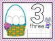 Easter Egg Play Dough Mats Numbers 1-10