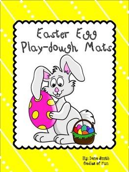 Easter Egg Play-dough Mats