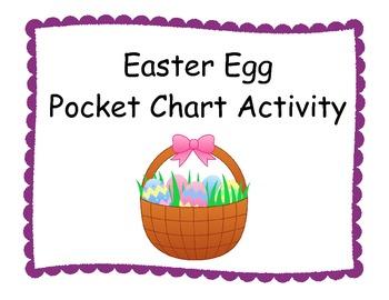Easter Egg Pocket Chart
