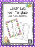 Easter Egg Poem Template