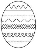 Easter Egg Printable - Flip Book