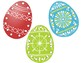 Easter Egg Punching and Lacing Cards