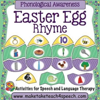 Easter Egg Rhyme Match