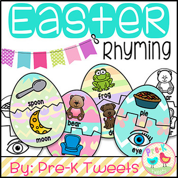 Easter Egg Rhyming