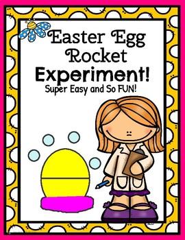 Easter Egg Rocket Experiment!