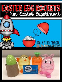 Easter Egg Rockets Science Response Sheet