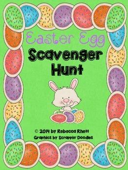 Easter Egg Scaveger Hunt