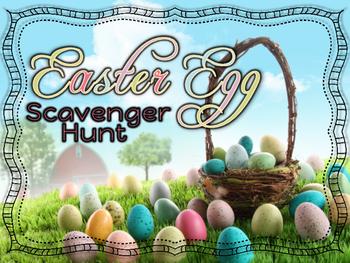 Rhythm Game - Easter Egg Scavenger Hunt - Ta, Ti-Ti, Ta Rest