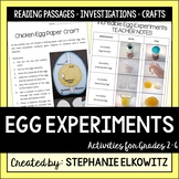 Easter Science Egg Experiments, Crafts and Coloring Fun