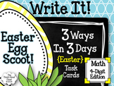 Easter Egg Scoot! ~ Math Task Cards {4-Digit Number Repres