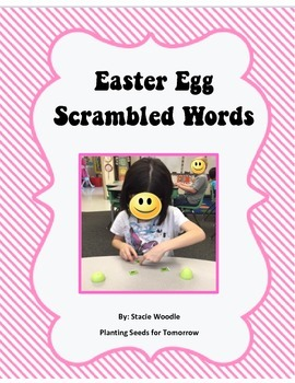 Easter Egg Scrambled Words