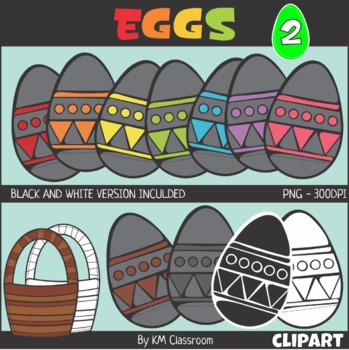 Easter Egg Set 2 Clip Art