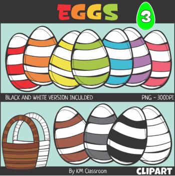 Easter Egg Set 3 Clip Art