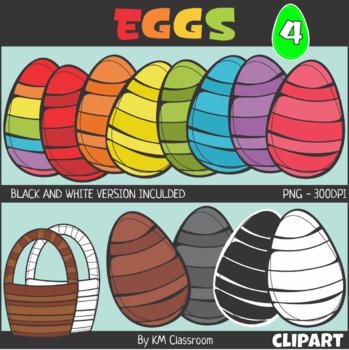 Easter Egg Set 4 Clip Art
