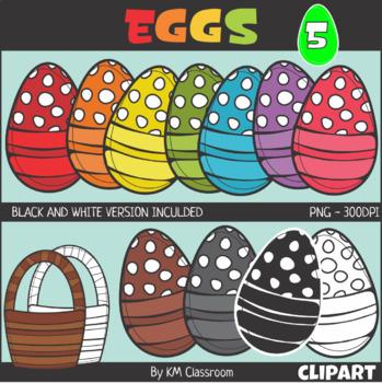 Easter Egg Set 5 Clip Art