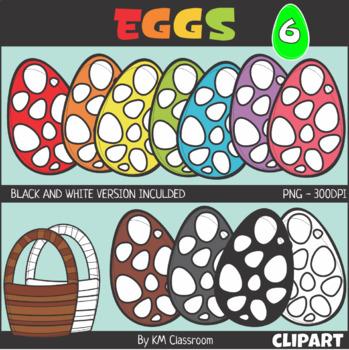 Easter Egg Set 6 Clip Art