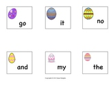 Easter Egg Sight Word Cards