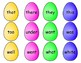 Easter Egg Sight Word Hunt- A Spring Activity