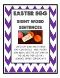 Easter Egg - Sight Word Sentences