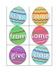 Easter Egg Sight Words (Dolch 1st Grade List)