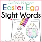 Easter Egg Sight Words- Dolch Primer words
