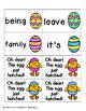 Easter Egg Sight Words! Fry List 3