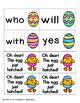 Easter Egg Sight Words! Primer List Pack