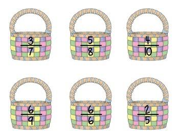 Easter Egg Sort - Multiplying Fractions Bundle