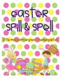 Easter Egg Spill & Spell