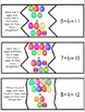 Easter Egg Story Problem Addition: Sums to 15