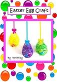 Easter Egg String Craft